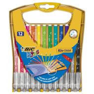 Flamastry BIC KIDS Couleur  Rainbow 12kol. - 933964_flamastry_kid_couleur_pudelko_12.jpg